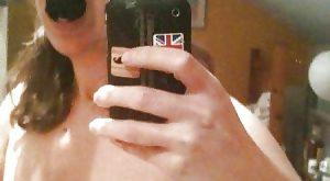 Photo selfie de moi en mode soumise