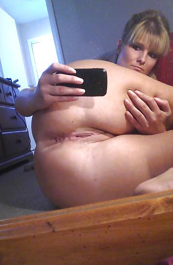 Selfie de mon cul