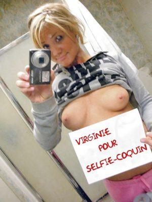 Selfie boobs a l'air