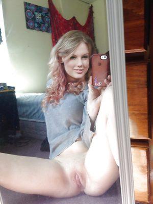 Selfie de Kristina fille Russe