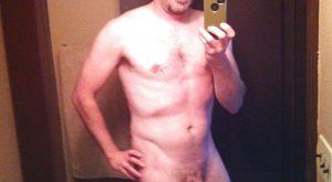 Selfie homme discret