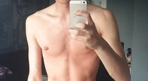Selfie mec de 19ans