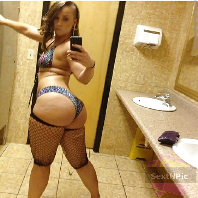 Selfie belle gosse ronde