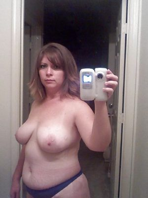 Selfie maman très ronde