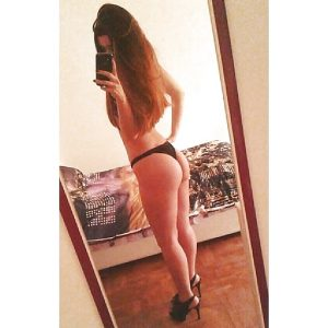 Selfie nue avant d'aller bosser