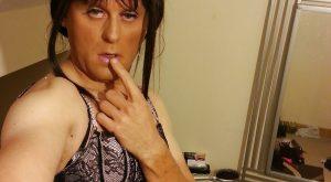 Selfie d'un travesti