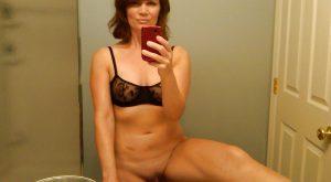 Selfie femme au foyer