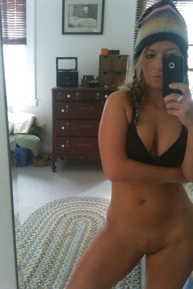 Selfie secrétaire coquine