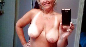 Selfie femme mature